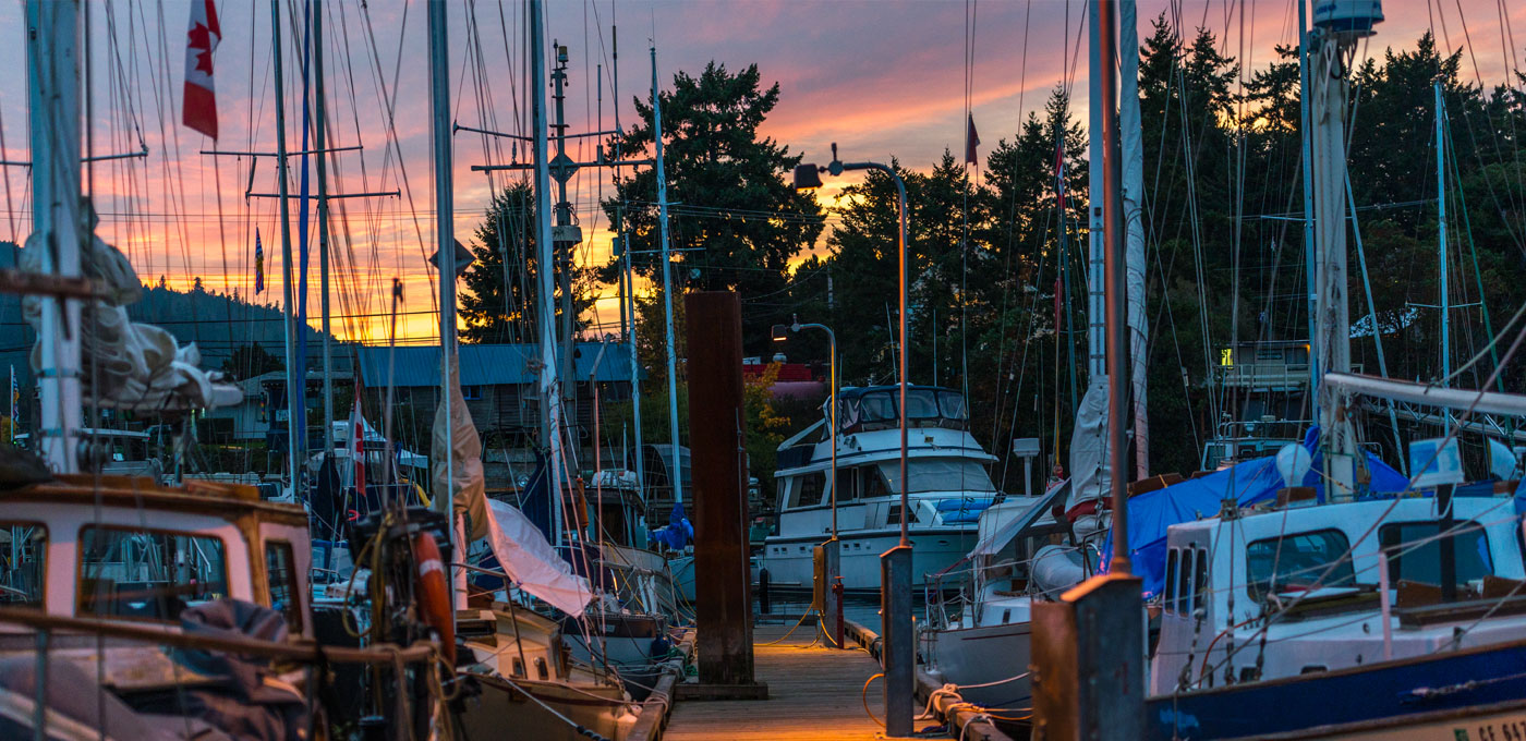 Ganges Harbour, Salt Spring Island, BC