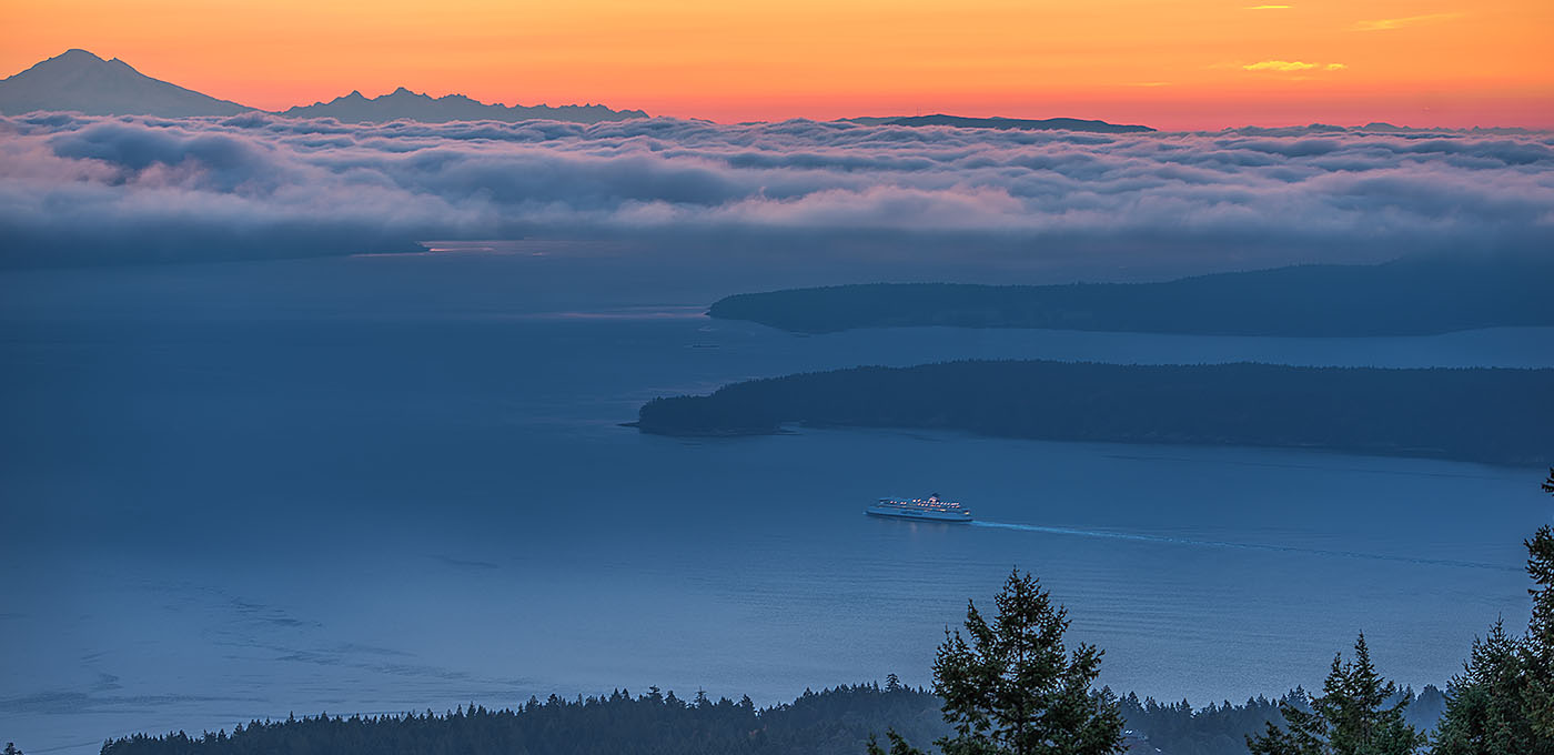 Beautiful Sunrise on Salt Spring Island