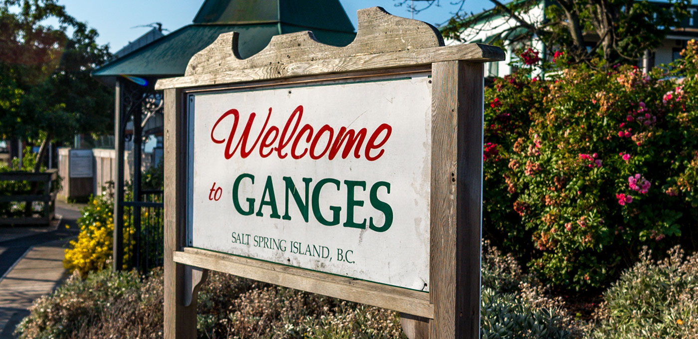 Welcome To Ganges, BC