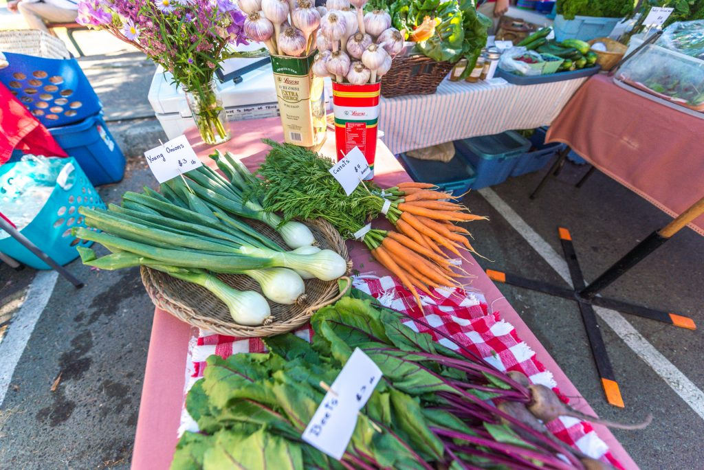 Veggies & Harvest on Salt Spring Island